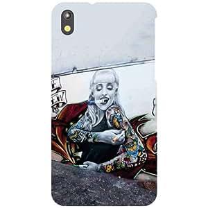 Htc Desire 816G-Art Matte Finish Phone Cover