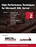 img - for High Performance Techniques for Microsoft SQL Server: Volume 2 book / textbook / text book