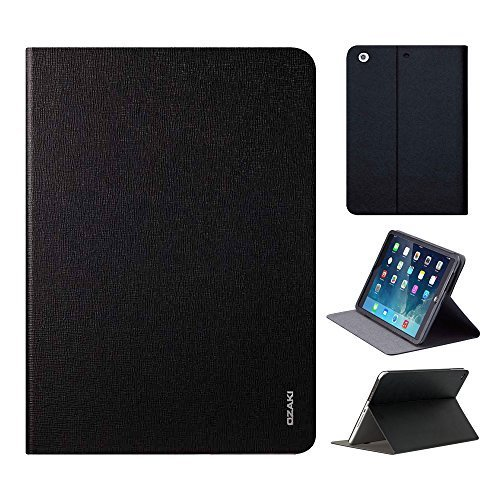 iPad Air 2 Case, OZAKI O!coat Slim Adjustable Multi Angle Slim Smart Case For Apple iPad Air 2 / Full Protection / Portrait and Landscape / Multi-angle View / Auto Sleep  Wake / Easy Access - Black by Ozaki [並行輸入品]
