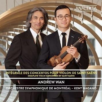 Orchestre symphonique de Montréal – Intégrale des concertos pour violon de Saint-Saëns
