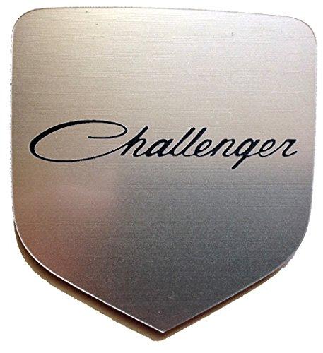 Dodge Challenger 2007+ Front Emblem Old Style Script Silver (Supercharger For Dodge Challenger compare prices)