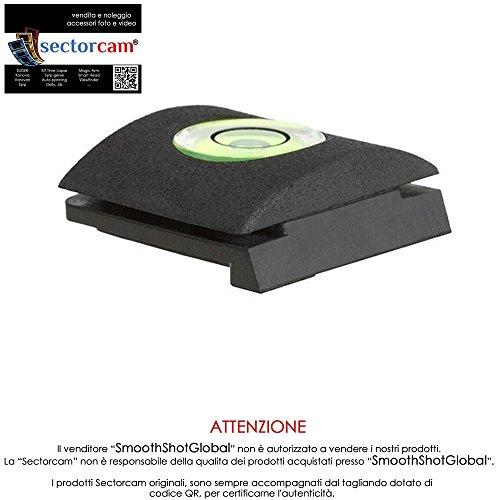 Sectorcam Protection pour griffe de flash avec niveau à bulle pour Canon, Nikon, Pentax, Panasonic, Samsung