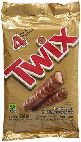 Twix Chocolate 4 Pack 200g