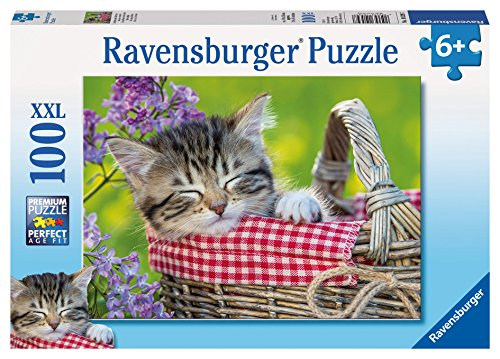 Ravensburger Sleeping Kitten Puzzle (100 Piece)