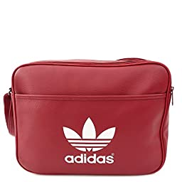 ADIDAS AIRLINER CLASSIC BAG RUSH RED WHITE SHOULDER BAG AB2710
