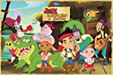 Jake And The Neverland Pirates - TV Show Poster (The Cast) (Size: 36 x 24)