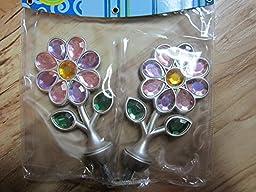 Cambria Flower Rhinestone Finial