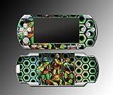 Teenage Mutant Ninja Turtles TMNT Cartoon Leonardo Video Game Vinyl Decal Skin Protector Cover Kit for Sony PSP 1000 Playstation Portable
