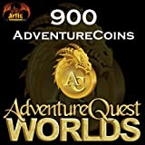 900 AdventureCoins Package: AdventureQuest Worlds [Instant Access]