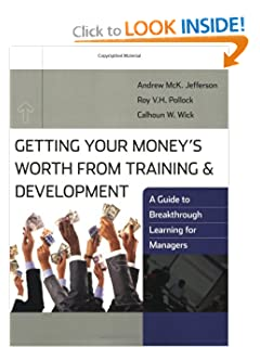 Training And Development Book