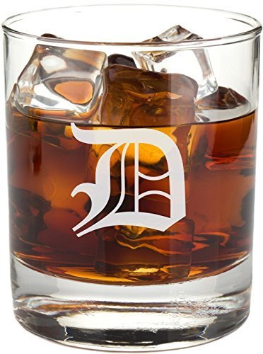 Personalized Scotch Glass for Scotch, Whiskey Bourbon, On the Rocks - RG03 (Personalized Rocks Glasses compare prices)