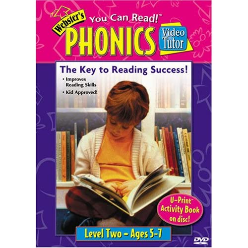 Websters Phonics Video Tutor (9781591253129): DVD: Books