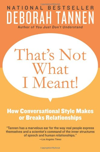 That's Not What I Meant!: How Conversational Style Makes...