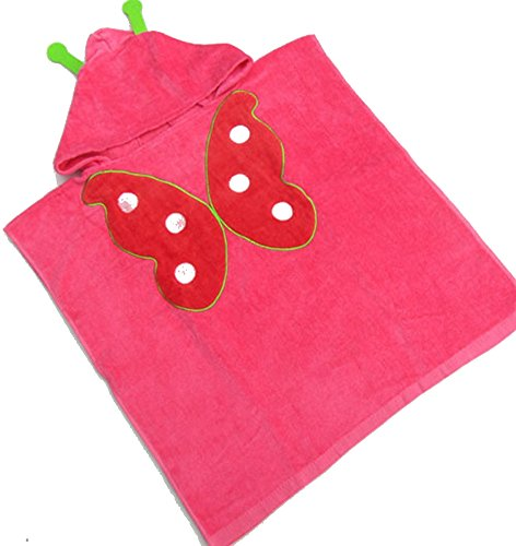 "Priorsâ""¢ Cartoon Pure Cotton Bathrobe for Babies (Red)"