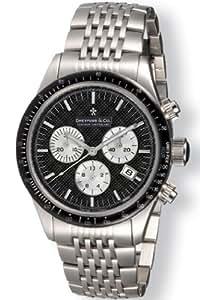 Dreyfuss Gents Silver Tone Bracelet Chronograph Watch DGB00032-04