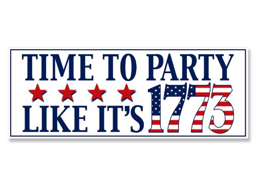 Time To (Tea) Party Like It'S 1773 Bumper Sticker