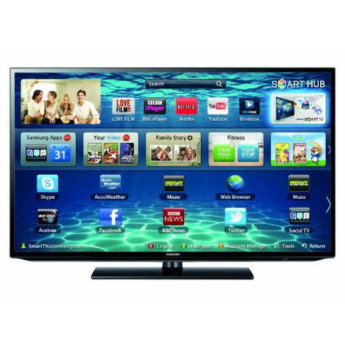 Image of Samsung UE50EH5300KXXU 50-inch HD 1080p Full LED Smart TV with Wi-Fi Functionality