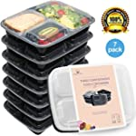Meal Prep Containers Set - Bento Lunc...