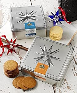 Moravian Ginger Cookie Tin