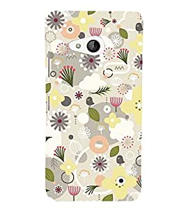 Flower Pond Pink Cute Fashion 3D Hard Polycarbonate Designer Back Case Cover for Microsoft Lumia 550