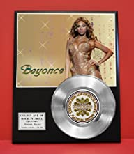 Beyonce LTD Edition Pop Platinum Record Display – Award Quality Plaque – Music Memorabilia -