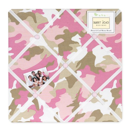 Pink Camouflage Bedding 2410 front