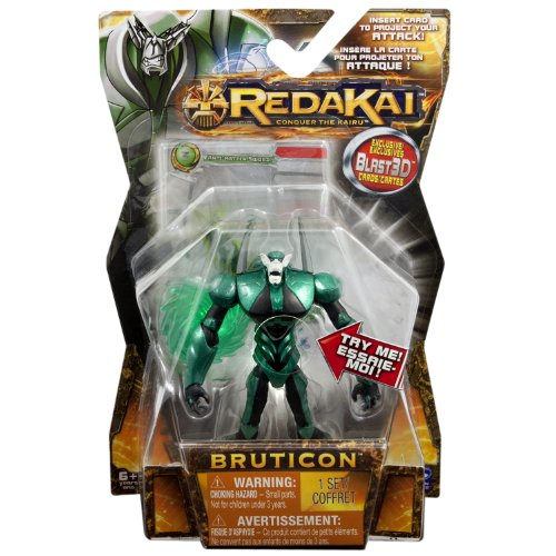 Redakai - Deluxe Figure with Cards - Green Bruticon