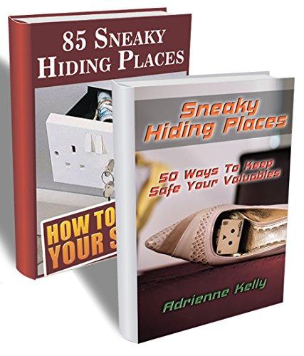 135 Sneaky Hiding Places BOX SET: (secret hiding places, secret hiding safes, money safety box,  how to hide things, secret hiding, secret hiding book) ...  hide things,  hide money travel Book 4)
