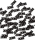 Creative Converting 2014 Printed Confetti, Black