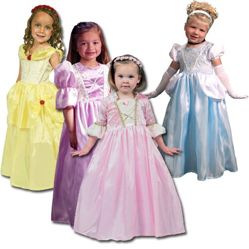 Children's Tea Party Princess Costume Set - Available Sizes: Sm 1-3/ Med 3-5