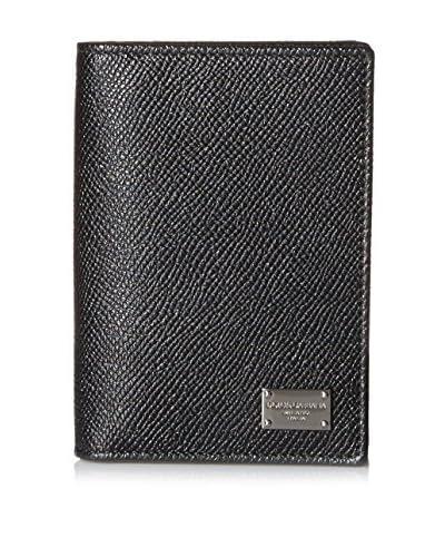 Dolce & Gabbana Men's Leather Wallet, Nero