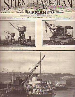 1904 Scientific American Supp September 3-Porpoise Strandings; Edison Exhibit