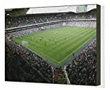 Canvas Print of White Hart Lane from the South East from Tottenham Hotspur