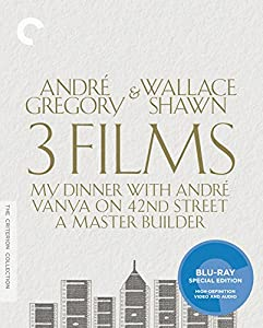André Gregory & Wallace Shawn: 3 Films [Blu-ray]