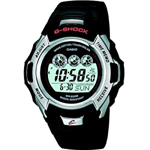 Casio G-Shock  Men's Digital Watch GW-500E-1VER With Solar Powered Radio Controlled Resin Strap