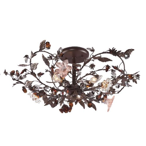 """Ghia Collection 27"""" Wide Ceiling Light Fixture"""