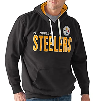 "Pittsburgh Steelers NFL Men's G-III ""All Star"" Hooded Fleece Sweatshirt"