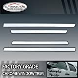 2000-2006 Cadillac Escalade SUV 4pc Chrome Window Sill Trim
