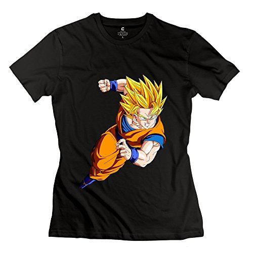 AOPO Dragonball Z Super Saiyan God Goku T Shirt For Women