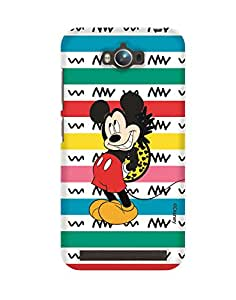 Pick Pattern with Exclusive DISNEY Characters Back Cover for Asus Zenfone Max ZC550KL