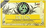 Triple Leaf Tea, Tea Bags, Detox, 1.16-Ounce Bags, 20-Count Boxes (Pack of 6)