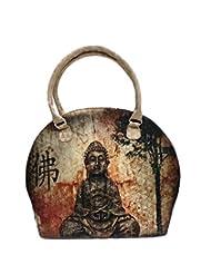 Bhamini Digital Hand Held Bag (Gold)