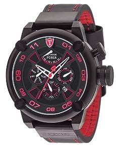 DeTomaso DT2056-B - Reloj de pulsera hombre, piel, color negro
