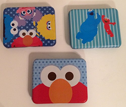 Sesame Street Character Tins Set of 3 - 1