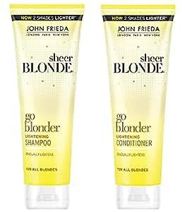 May used Blonde lightening shampoo wanting