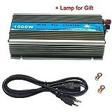 iMeshbean Premium 1000 Watts Grid Tie Inverter MPPT Pure Sine Wave for Solar Panel System 22-45V Input to 90V-140V Output Stackable USA