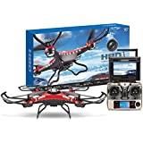 Toys Bhoomi Professional RC Quadcopter Drone With 2.0MP HD Camera & FPV Monitor LCD - 2.4Ghz 5.8G 6-Axis Headless...