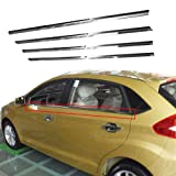 Chrome Window Trim sill lines 4pcs \ set For 2009 2010 2011 2012 2013 Suzuki Alto