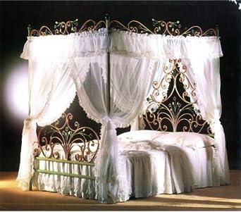 Malizia val lmb0538 letto matrimoniale completo di - Baldacchino per letto matrimoniale ...