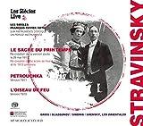 ストラヴィンスキー : 3大バレエ / ロト & レ・シエクル (Stravinsky : Le Sacre du Printemps | Petrouchka | L'Oiseau de Feu / Les Siecles | Francois-Xavier Roth) [2SACDシングルレイヤー] [Limited Edition] [日本語帯・解説付]